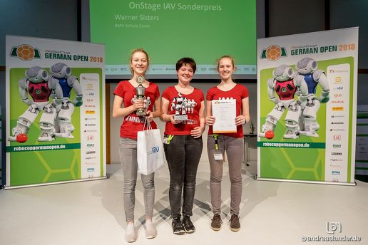 Warner Sisters holen Bronze in Magdeburg